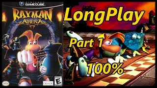 Rayman Arena/M - Longplay 100% (Part 1 of 2) Full Game Walkthrough (No Commentary) (Gamecube, Ps2)