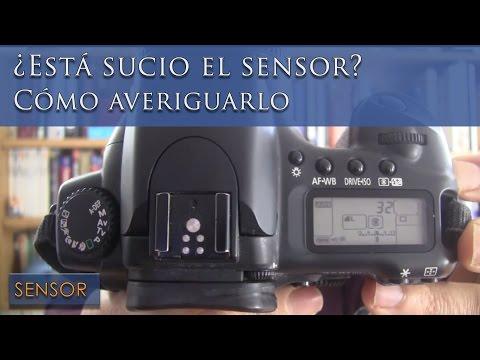Cómo descubrir si el sensor de tu cámara de fotos está sucio