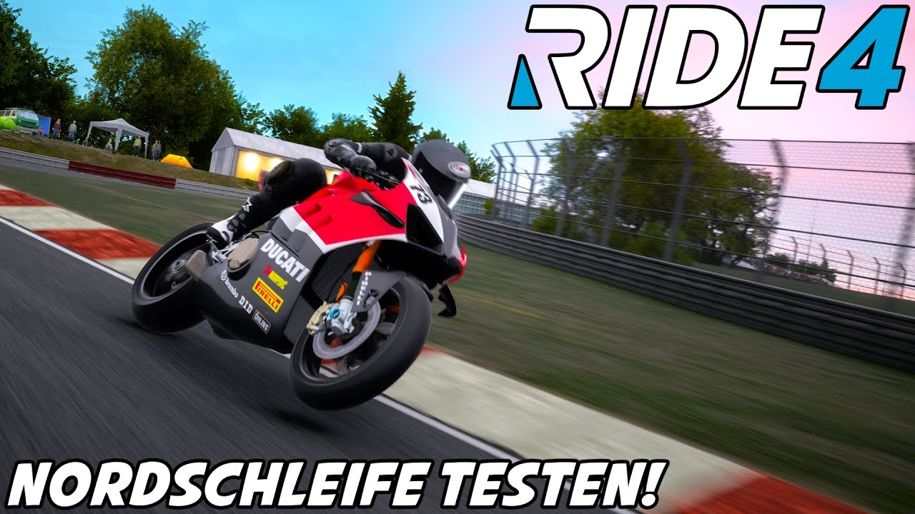 RIDE 4 Preview #2: Nordschleife Testen! | Let's Play 4K Gameplay German