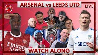 Arsenal vs Leeds | Watch Along Live