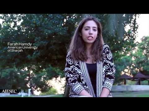 AIESEC UAE Global Citizen Program - Farah Hamdy's Experience in Greece