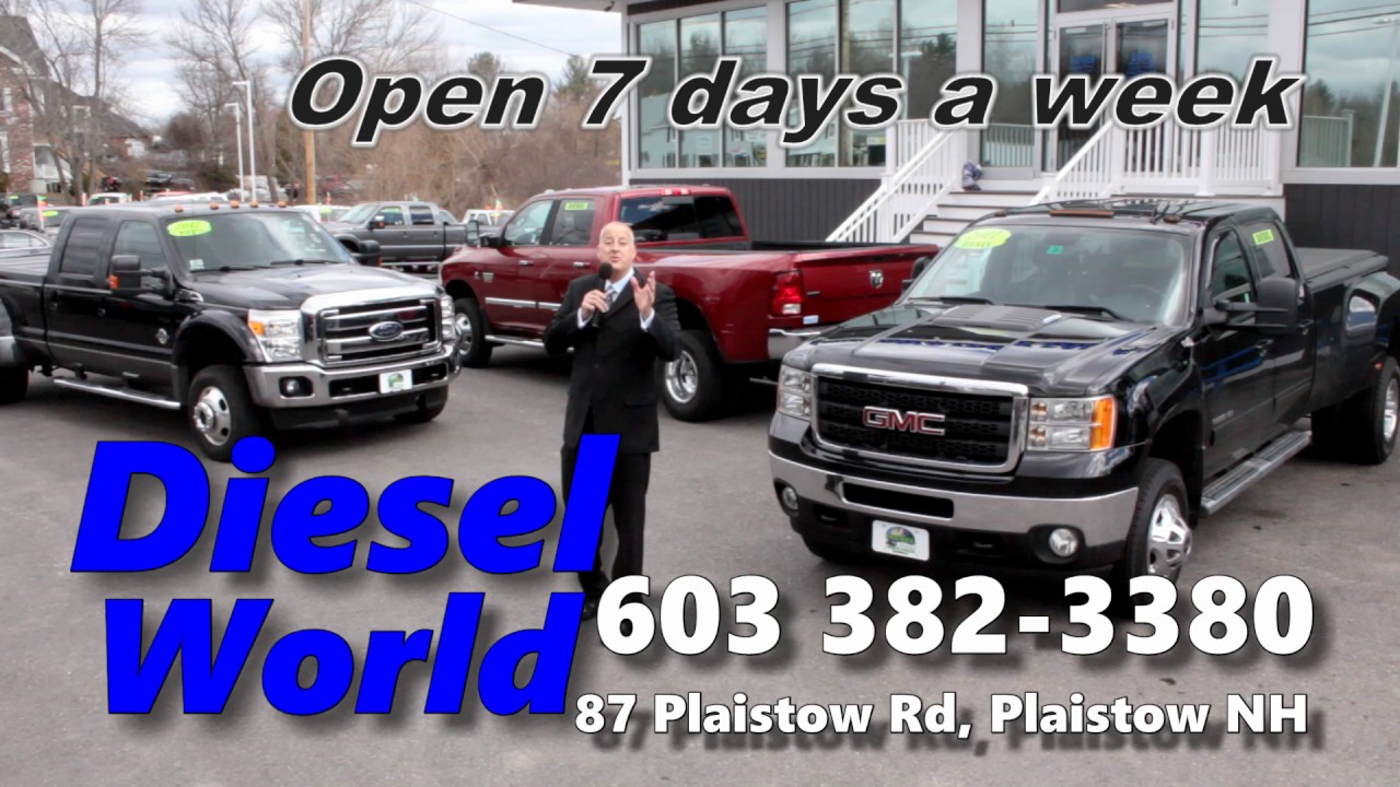 Diesel World Nh >> Diesel World Truck Sales About Us Why Buy New Youtube