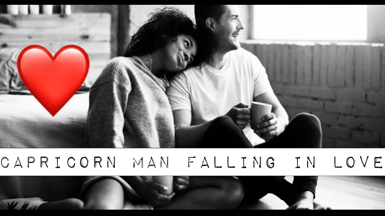 Signs a capricorn man is falling out of love