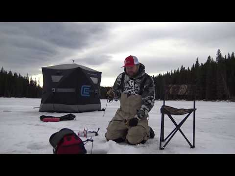 Ice Fishing Alberta Trout