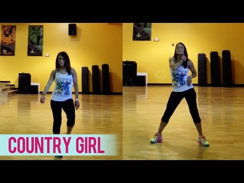 Luke Bryan - Country Girl (Shake It For Me) | Dance Fitness with Jessica