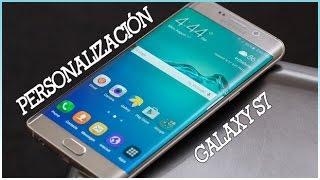 GALAXY S7   ICONOS Y FONDOS   PERSONALIZA TU ANDROID