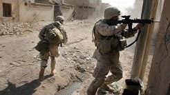U.S. MARINES IN BATTLE OF FALLUJAH - URBAN COMBAT FOOTAGE   IRAQ WAR