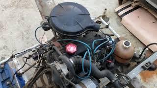 Remise en route d'un moteur Renault Cleon C1E issu d'une Super5 TL 1984