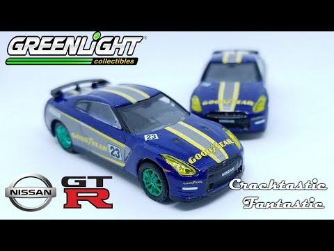 Cracktastic Fantastic: Greenlight Hitch & Tow Goodyear Tires Nissan GTR R35 & Ford F-150