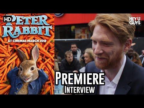 Domhnall Gleeson - Peter Rabbit Premiere Interview