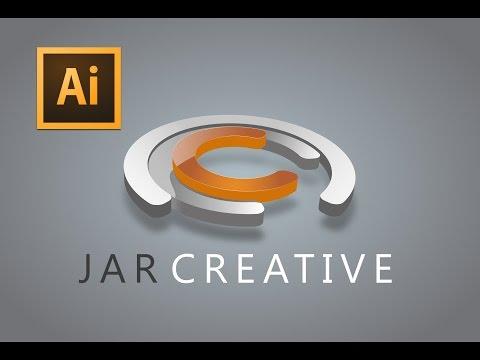 Adobe Illustrator cc tutorial (JAR CREATIVE LOGO)