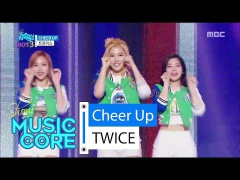 [HOT] TWICE - CHEER UP, 트와이스 - CHEER UP Show Music core 20160507