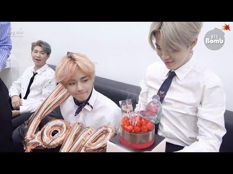 [BANGTAN BOMB] V's Surprise(?) Birthday Party - BTS (방탄소년단)