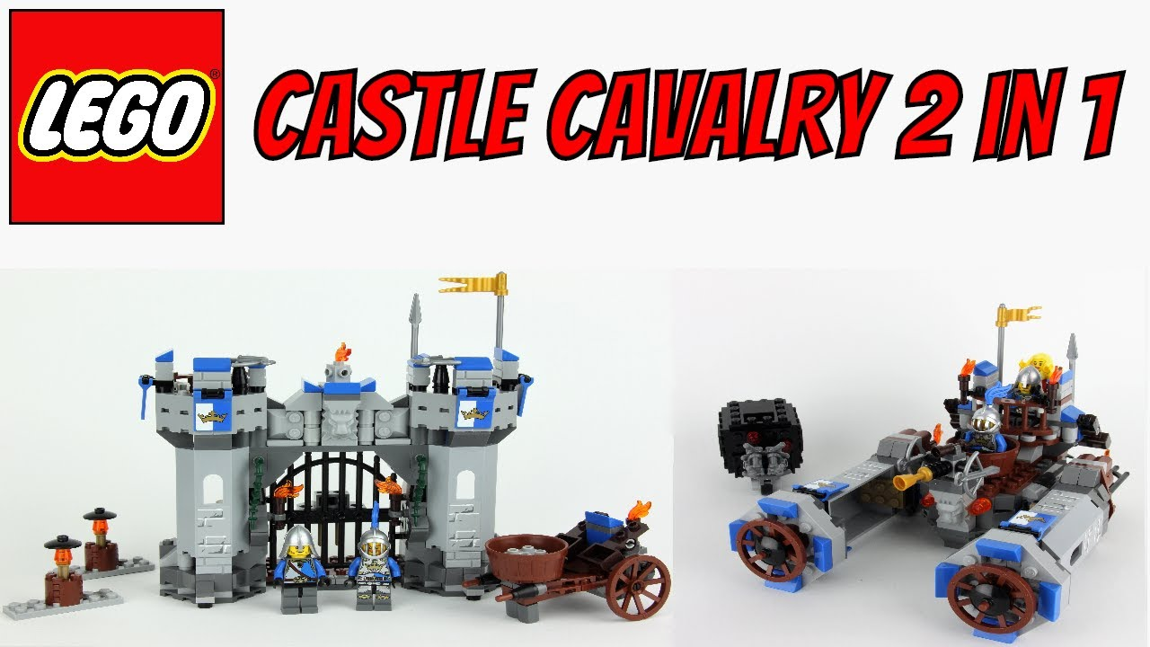 Lego Movie Castle Cavalry Unboxing Speed Build Review 70806 2