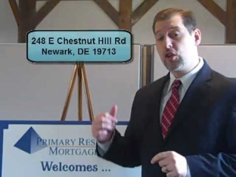 Introduction to Primary Residential Mortgage, Inc. - Delaware Mortgage Branch Call 302-703-0727
