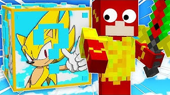 🔥 NUEVOS LUCKY BLOCKS DE SUPER SONIC 😍😱 MINECRAFT MODS