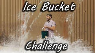 ALS Ice Bucket Challenge - Digger Style