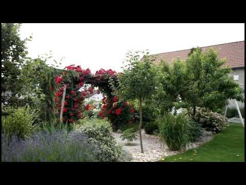 3f3657f2ec Romantickú vidiecku záhradu si šikovná majiteľka navrhla celkom sama  (VIDEO)