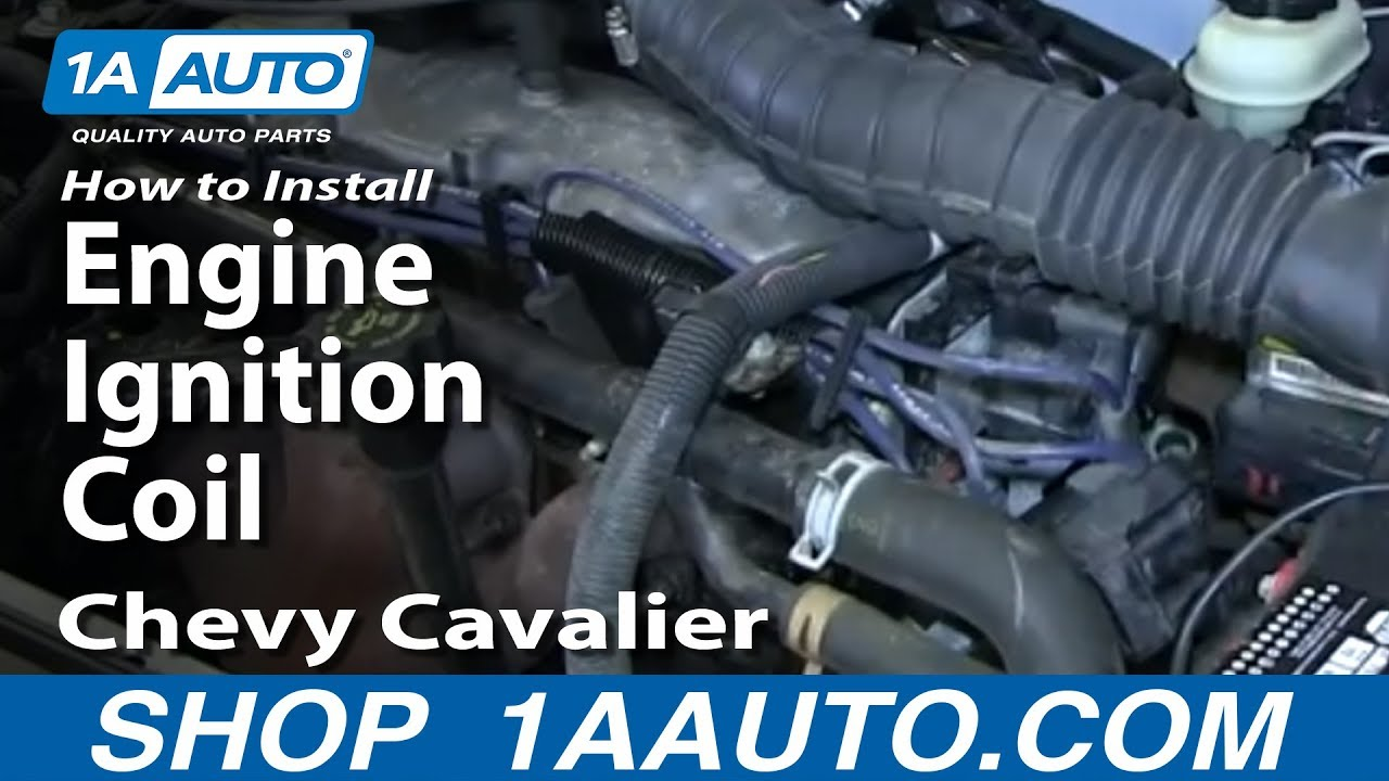 How To Install Replace Engine Ignition Coil Chevy Cavalier 22l Cap For Malibu Wiring Diagram Youtube