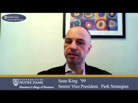 Mendoza Dialogues with Jeff Bergstrand and Sean King MBA '99