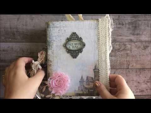 Fairy Tale Junk Journal Flip-Through