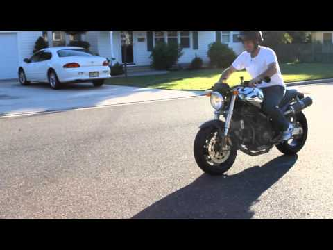 ducati monster chromo 1999 900 carbureted youtube. Black Bedroom Furniture Sets. Home Design Ideas