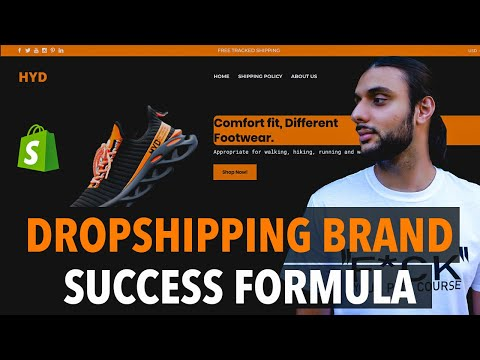 THE FUTURE OF SHOPIFY DROPSHIPPING IS HERE l BRANDED STORE FORMULA thumbnail