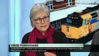 Blocus ferroviaire : la réponse du gouvernement Trudeau – Panel de journalistes