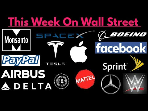 This Week On Wall Street (April 8, 2018 To April 15, 2018)