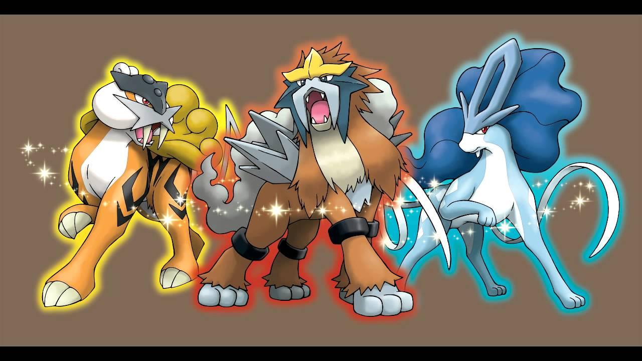 Pokemon HG/SS: Entei/Raikou/Suicune - Combined Mashup ...