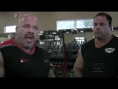 World's Strongest Bodybuilder Benching with World's