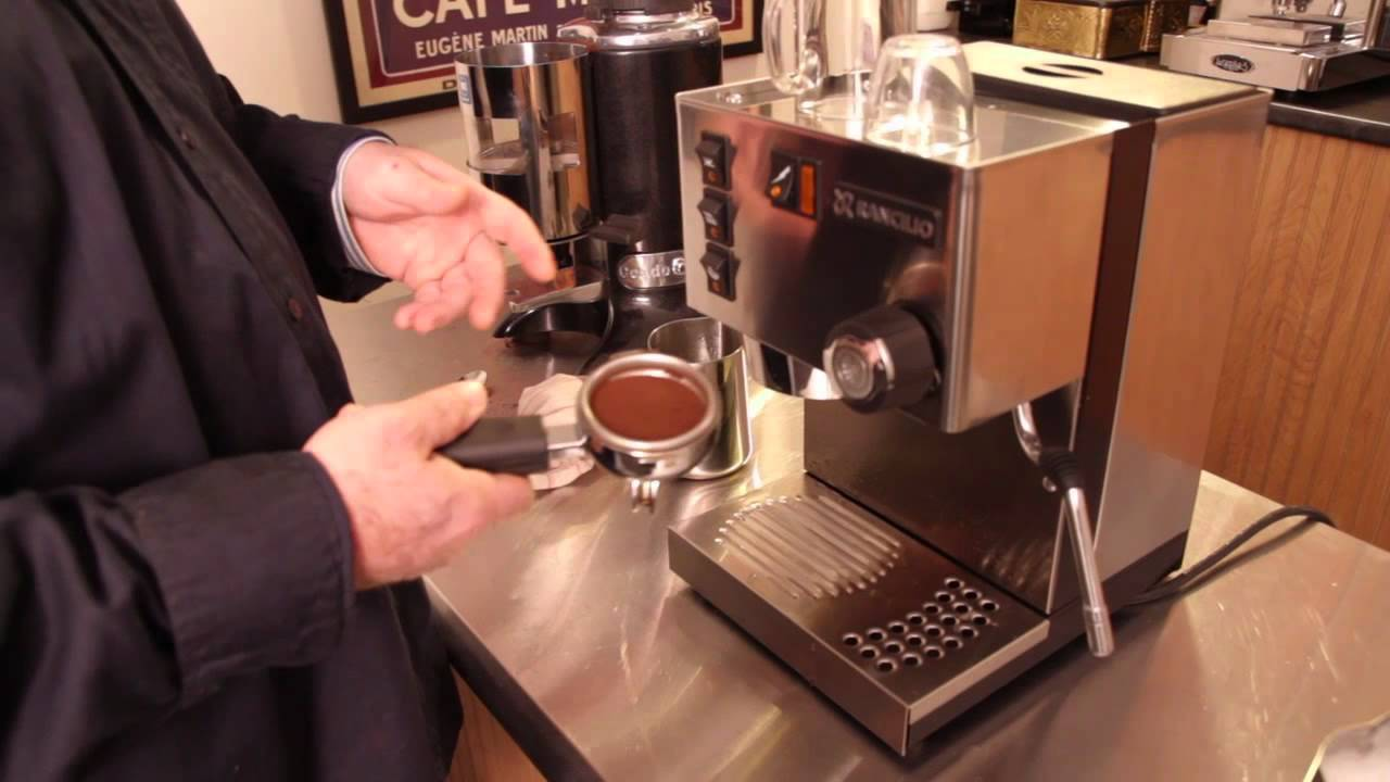 Electronic Make Coffee With Espresso Machine how to make a cappuccino on the rancilio silvia espresso machine youtube