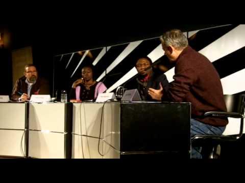 Fatou Diome, Patrice Nganang und Ilija Trojanow diskutieren die (Ohn-)Macht der Literatur