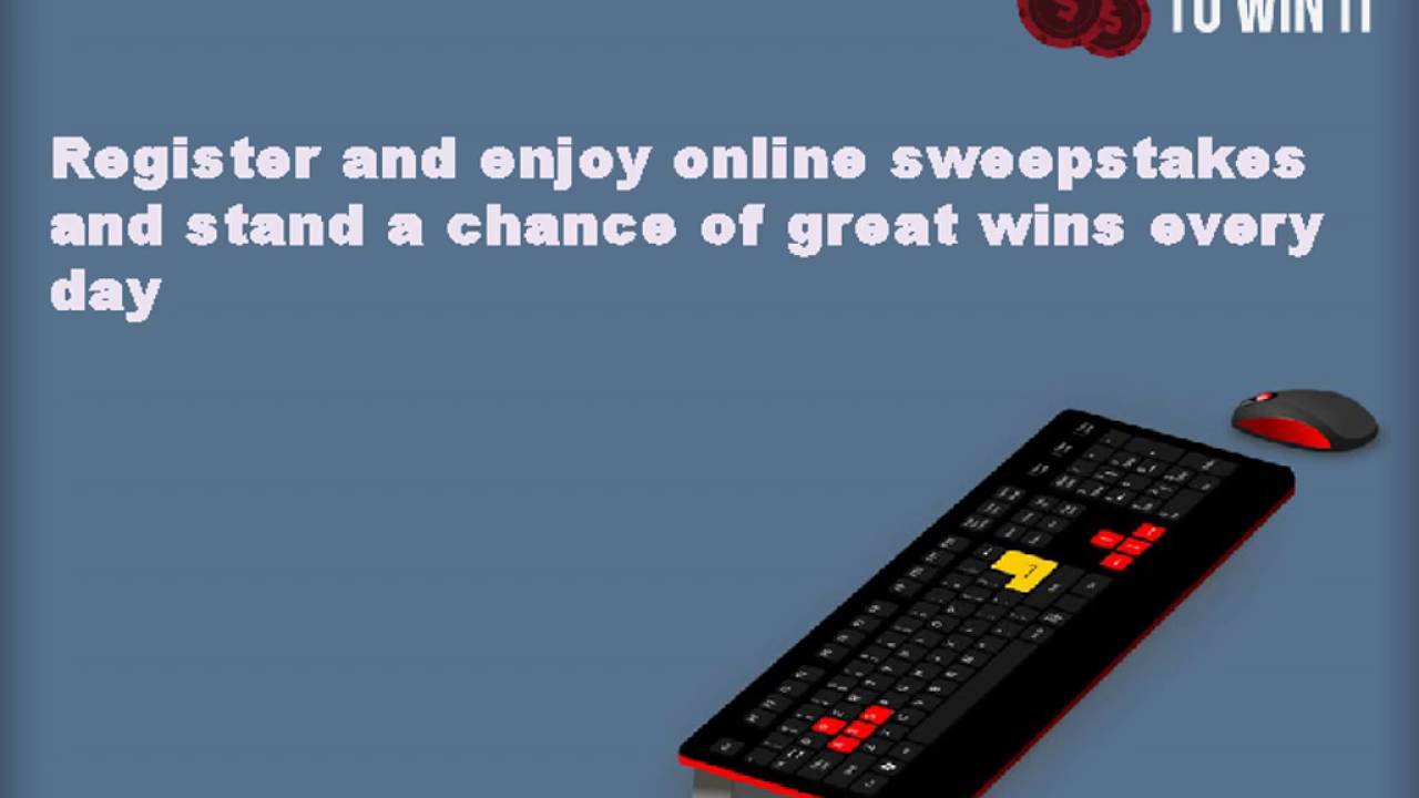 Sweepstakes: a selection of sites