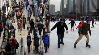 해외여행 가고 스케이트 타고…성탄절 연휴나기