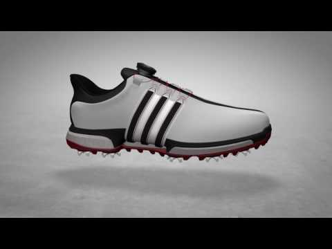 ed381f487fb2cd adidas Tour360 BOA Boost Golf Shoes - YouTube
