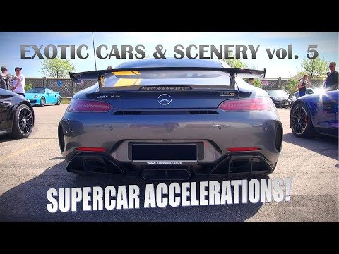SUPERCAR OVERDOSE IN HELSINKI!! - Exotic Cars and Scenery vol 5 | Accelerations Loud Sounds |