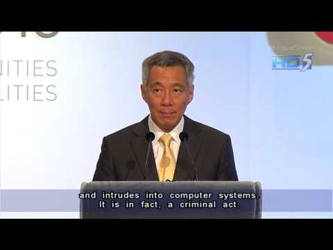 PM Lee urges ASEAN to boost ICT cooperation, says courts will deal with hackers - 14Nov2013