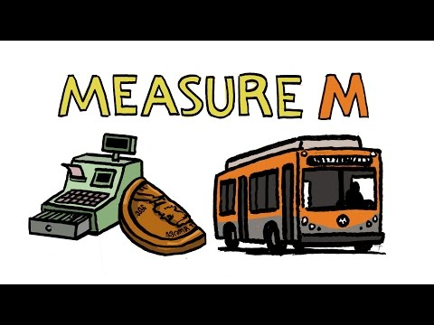 Measure M in a Minute: LA County Sales Tax for Transportation