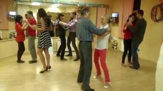 Открытый урок танго ч.1