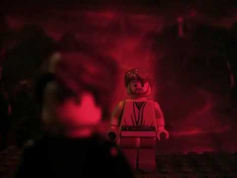 Lego star wars obi wan vs anakin youtube - Vaisseau star wars anakin ...