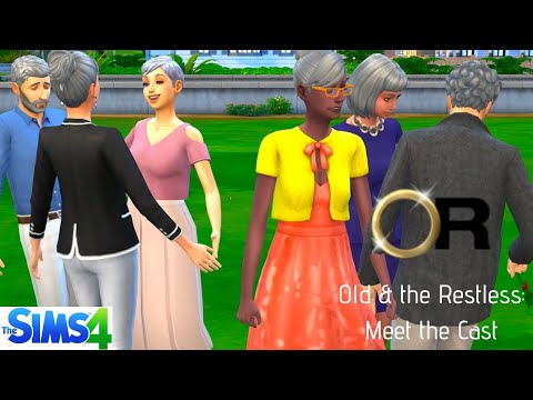 OLD & THE RESTLESS: SIMS 4 SOAP OPERA// MEET THE CAST