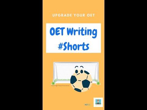 OET Writing Task Types