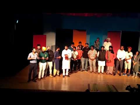 Binnu dhillon camedy red art Tharter team Punjabi university Patiala
