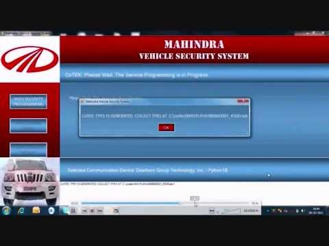 Mahindra iSmart scaner Audio Visual Technical Manuals First time in India