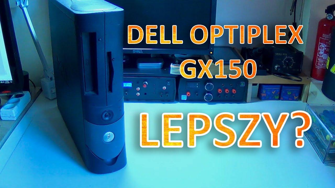 Dlaczego wybrałem słabszy komputer? Dell Optiplex GX150. ZA FREE Z OLX. Saper ElektroZłomiarz