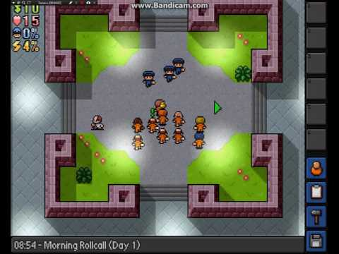 живу в тюрьме, часть 1, обзор игры the escapists