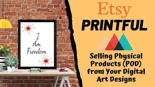 Create POD Items from Art Printables to Sell On Etsy (and Other Online Marketplaces)