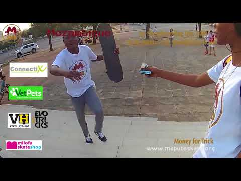 Money for Trick by Maputo Skate 2018