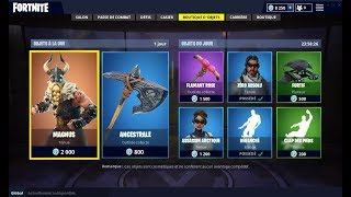 BOUTIQUE FORTNITE DU 15 JUILLET 2018 ! - ITEM SHOP JULY 15 2018